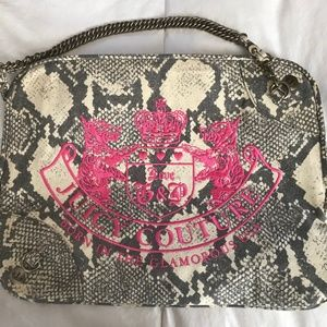 NWOT Juicy Couture Zippered Laptop Bag